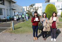 【医療事務】災害訓練ボランティアに参加しました!