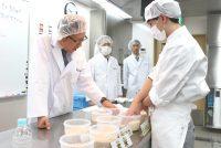 管理栄養士科1年:企業との特別連携授業!給食実務演習~前編~