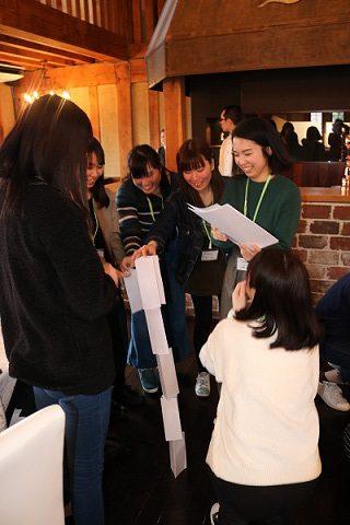京都栄養医療専門学校 AEプログラムチームビルディング