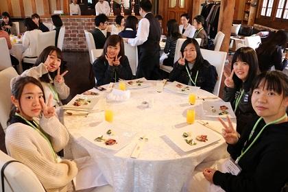京都栄養医療専門学校 AEプログラムランチ