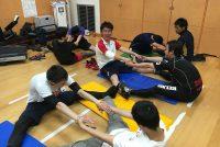 栄養士科2年:「健康運動演習」の授業を紹介!